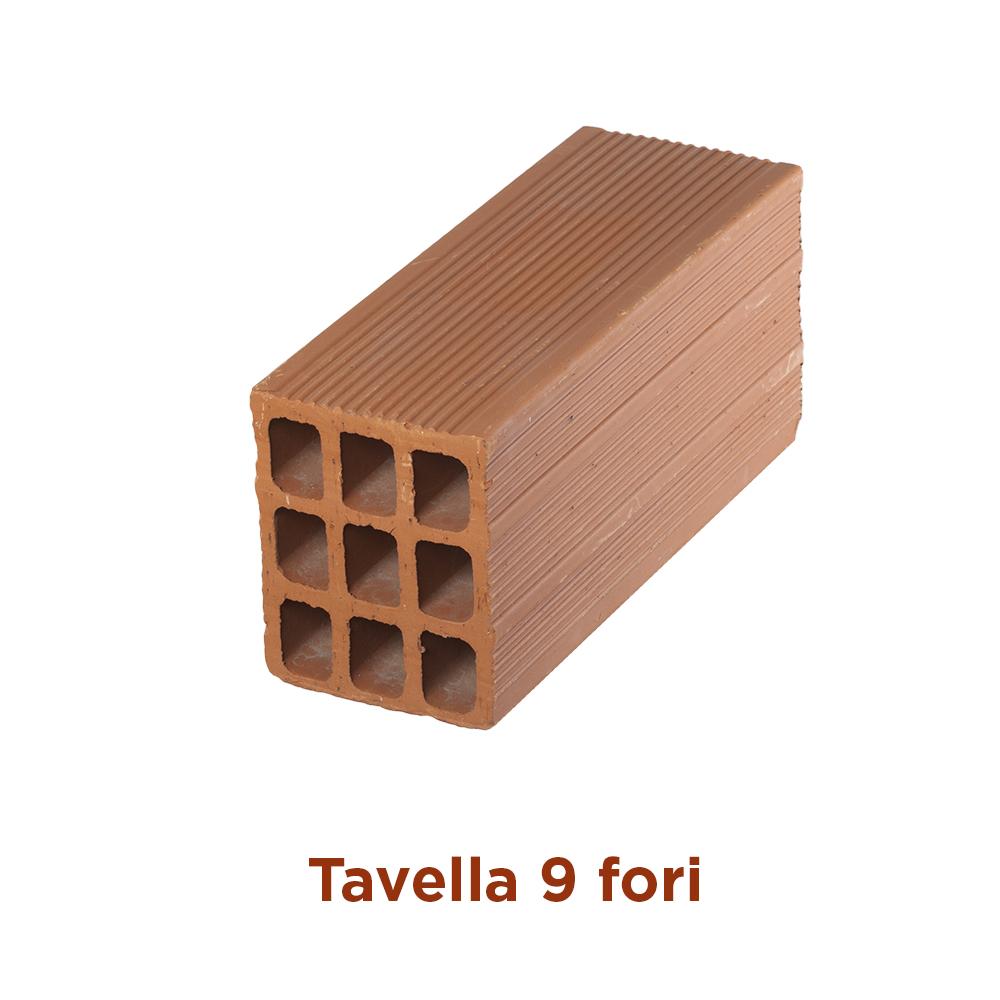 Tavella 9 fori